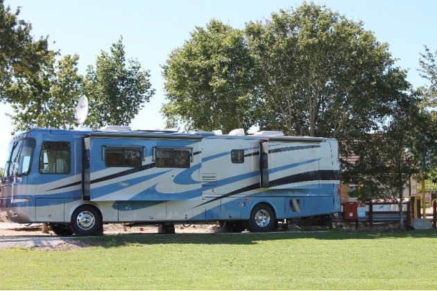 Oversized Touring Pitches at Fairways Holiday Park