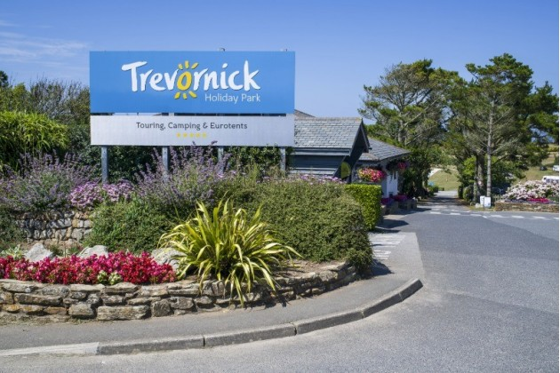 Trevornick Holiday Park Reception in Holywell Bay, Cornwall