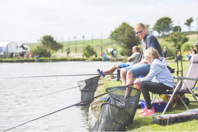 Three Fishing Lakes at Trevornick Holiday Park