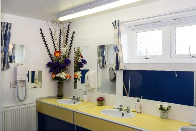 Immaculately clean modern facilities