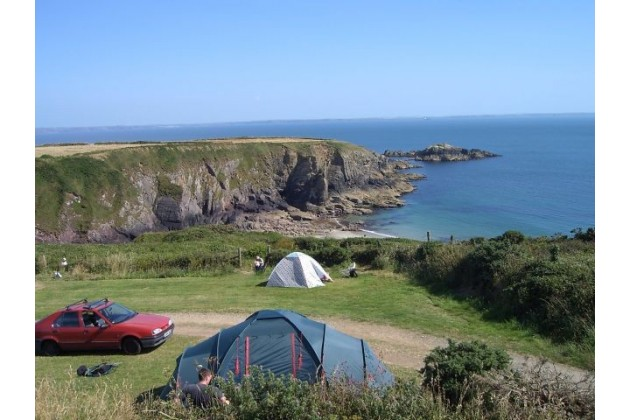Photo of Caerfai Organic Farm Campsite
