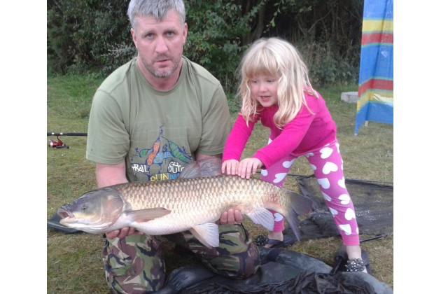 Campers with nice carp