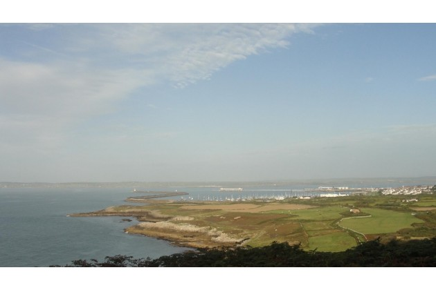 Views from Holyhead Mountain