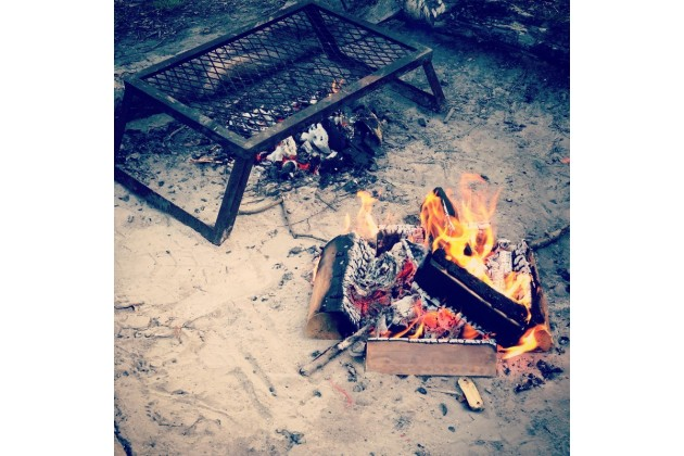 Campfires with grills for hire