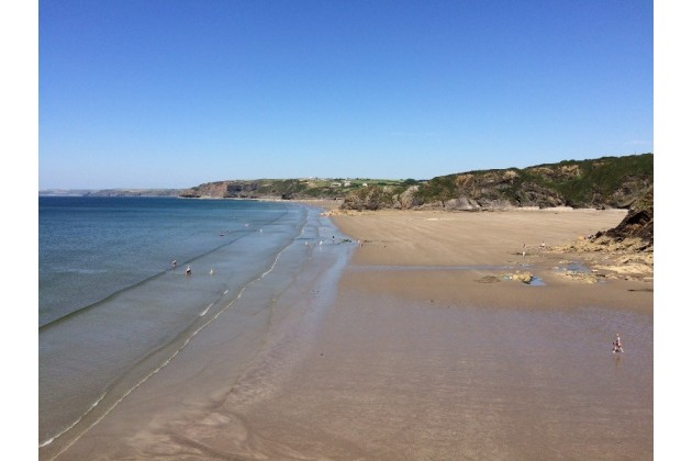 Walking Distance Beaches, Little Haven/Broad Haven