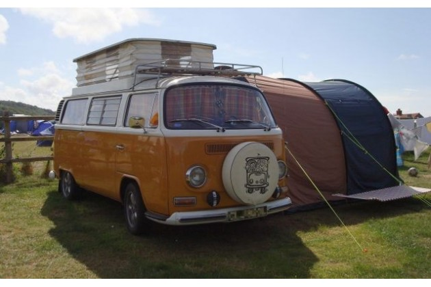 We love VW campervans at Deepdale Backpackers & Camping