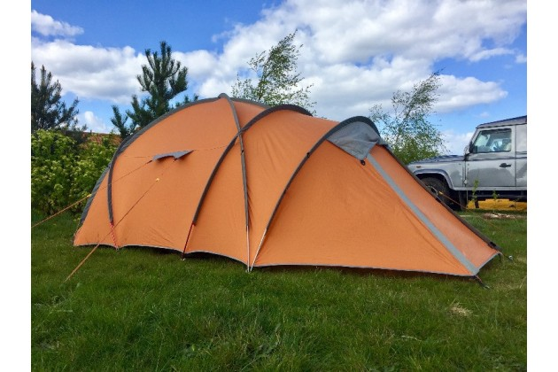 Pitches of various sizes suitable for any size tent at Deepdale Backpackers & Camping