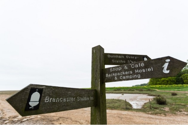 Great walking along the North Norfolk Coast at Deepdale Backpackers & Camping