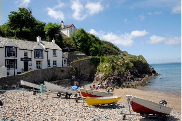 Great pubs in picturesque village of Little Haven