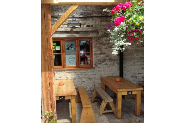 Sheltered Pub Garden