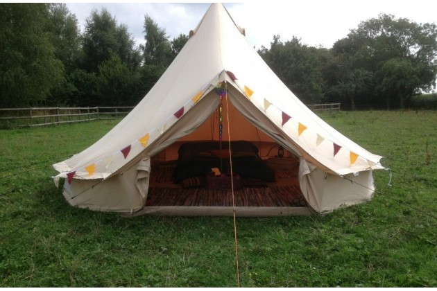 Furnished Bell Tents