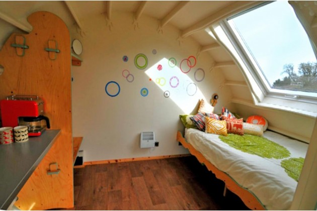 interior Eve Glamping Cabin