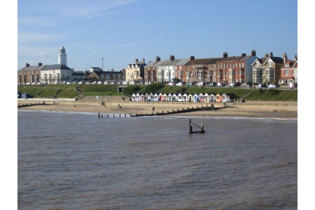 Southwold is close by.