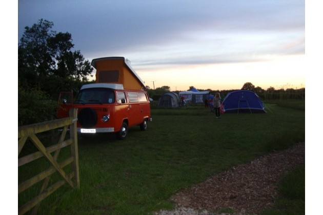 Evening on the campsite.
