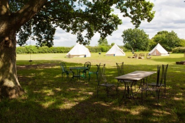 Gorsey Meadow & Norfolk Campsites that have yurts/tipis/pre-erected tents available