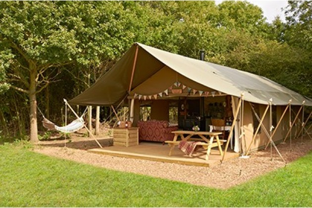 Luxury Lodge Tent at Secret Meadows