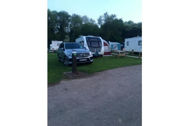 Grass Pitches For Caravans.