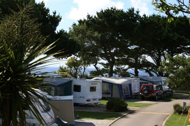 Motorhome pitches