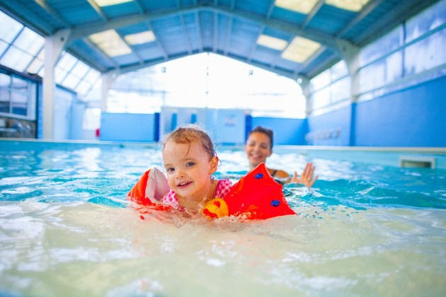 15-metre swimming pool with baby/toddler area.