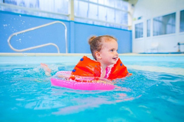 Our reviews always state how warm our pool is and perfect for children