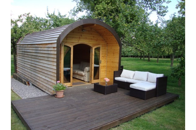 New Luxury Pod with toilet ensuite