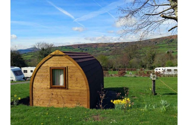 Our new glamping pod!