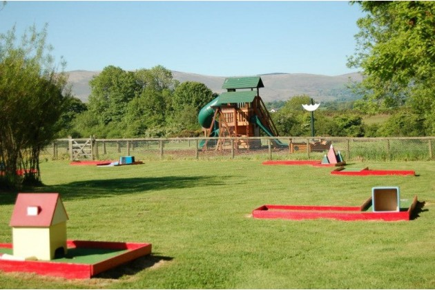 Play areas adjoining Site