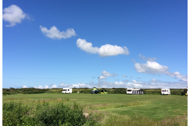 View of Campsite - plenty of space for everyone