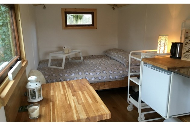 Photo of Angharad Shepherds Hut at Meurig Cottage