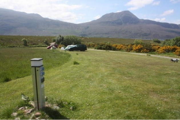 Photo of Badrallach Campsite, Bothy & Holiday Cottage