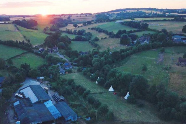 Photo of White House on Wye Glamping