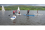 stand up paddleboarding on site